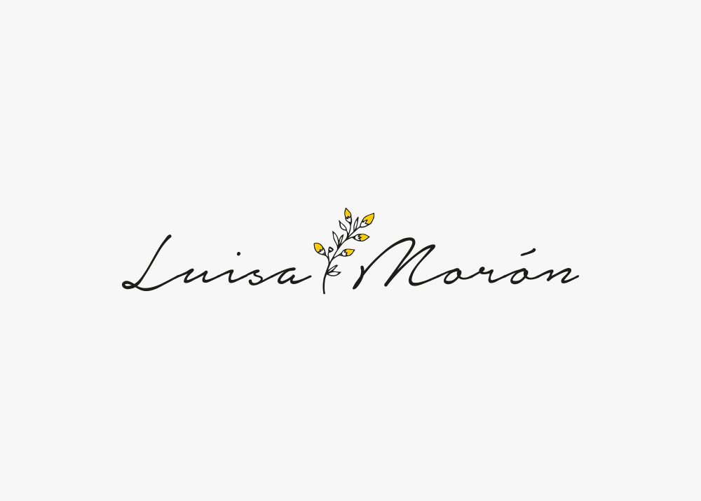 diseño logotipo ainhoa vegue