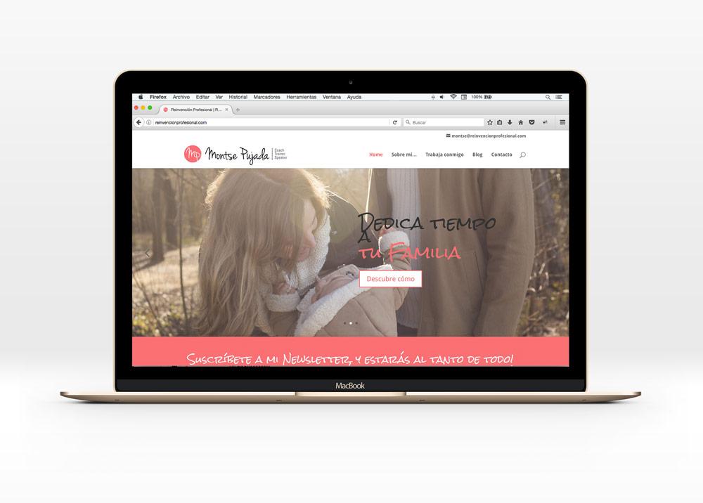 web para reinvencion profesional