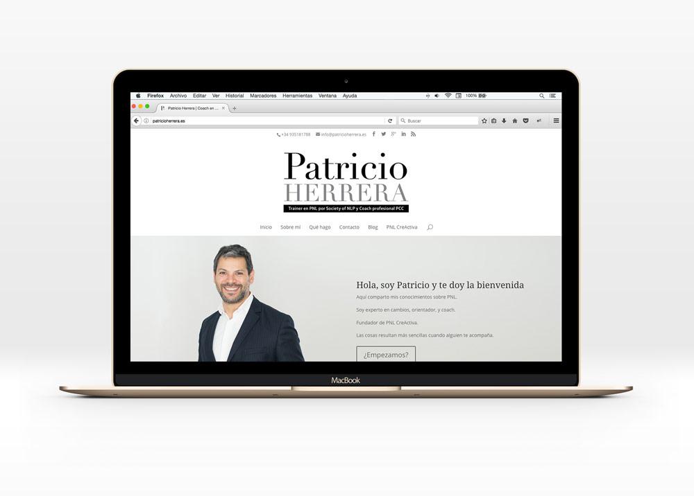 web corporativa patricio herrera