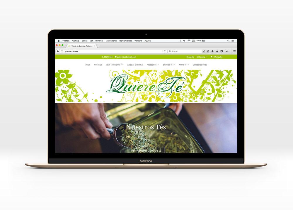 tienda online quiere té online